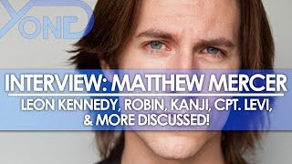 the codec matthew mercer interview leon kennedy robin kanji cpt levi more discussed