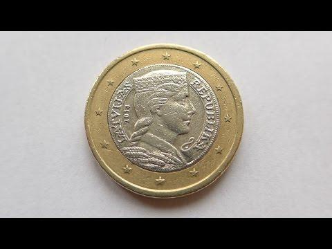 1 Euro Coin :: Latvia 2014