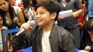 Marc Santiago sings Pag Kasama Ka at SM Pampanga