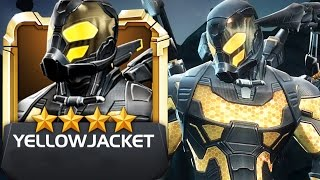 Marvel: Contest of Champions - 4-Star Legendary YELLOWJACKET Review