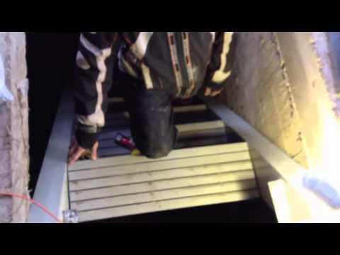 Монтаж композитной (стеклопластиковой) лестницы Дилер Композит
