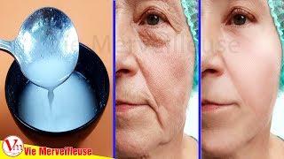 Masque magique anti-âge, Supprimer les Rides et les taches de vieillesse sur le visage naturellement