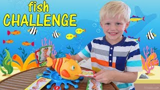 Fish Food Challenge with My Brother!