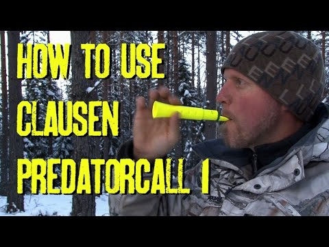 How to use Clausen Predatorcall 1 by Kristoffer Clausen