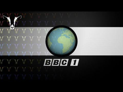[MOCK] BBC 1 1965 Globe Symbol in Blender