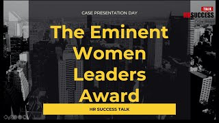 Award Ceremony - The Eminent Women Leaders Award 2020