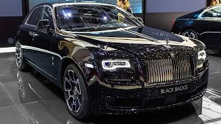 ROLLS-ROYCE GHOST BLACK BADGE EDITION - GENEVA MOTOR SHOW 2016 HQ