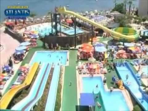 atlantis water park marmaris youtube. Black Bedroom Furniture Sets. Home Design Ideas