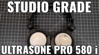 Best Studio Headphones 2020 Ultrasone Pro 580i Review