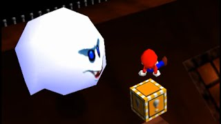 SM64 - Big Boo's Balcony - 1x A Presses [OUTDATED]