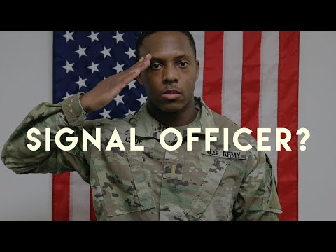 What I REALLY Do As A SIGNAL OFFICER - US Army