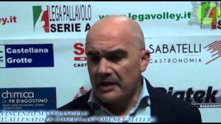 26-12-2013: Intervista a Vincenzo Mastrangelo nel post Materdominivolley.it - Matera 1-3