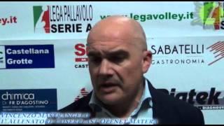 26-12-2013: Intervista a Vincenzo Mastrangelo nel post Materdominivolley.it - Matera 1-3