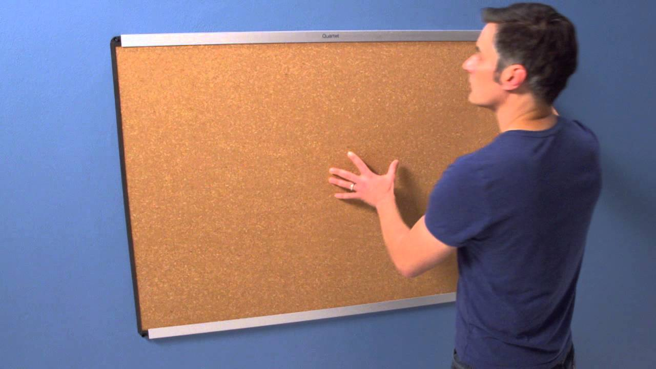 How To Install Prestige 2 Magnetic Bulletin Board Youtube