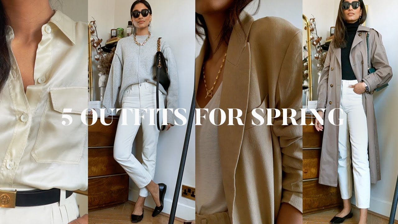 5 SPRING OUTFITS   LOOKBOOK FT CHARLES & KEITH AD 2