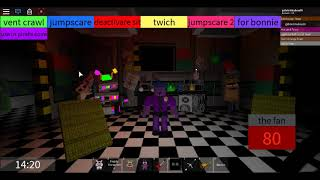 Scott's Crazy!!! -New Animatronic in jest-Ultimate Custom Night-Roblox