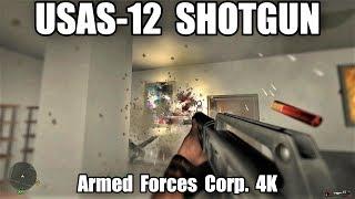 USAS-12 SHOTGUN | Armed Forces Corp. - (4K) PC Gameplay