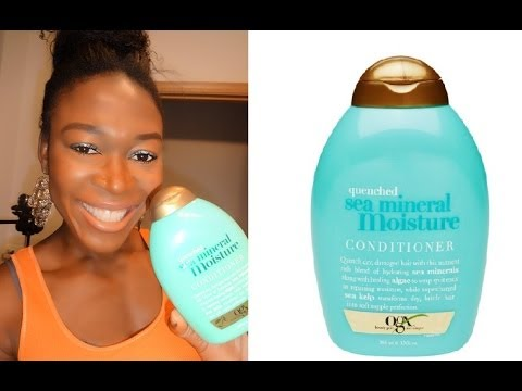 Ogx/Organix Quenched Sea Mineral Moisture Conditioner