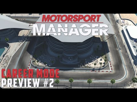 Motorsport Manager PC PREVIEW Career - PART 2 RISKY STRATEGY