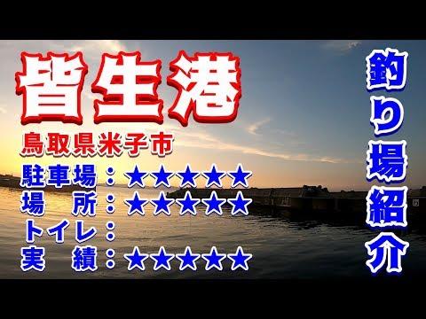 山陰釣り場紹介 part.71:皆生港 鳥取県米子市