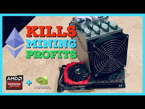 Ethereum Fork/Block Reward Reduction Kills GPU Mining Profitability | Crypto Miner Explains