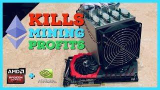 Ethereum Fork/Block Reward Reduction Kills GPU Mining Profitability | Crypto Miner Explains