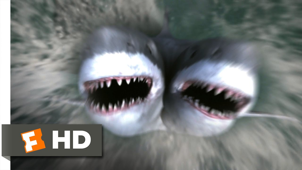 2 Headed Shark 3 10 Movie Clip Get Out Of The Water 2012 Hd