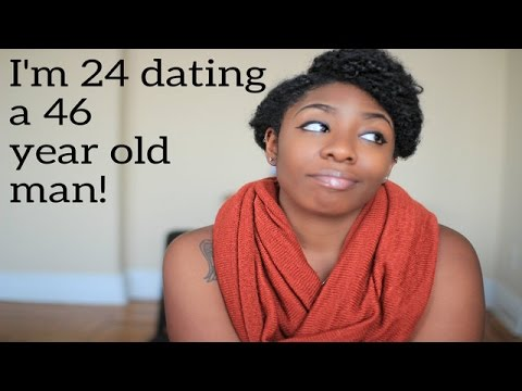 24 year-old woman dating a 35 year-old man
