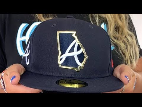 atlanta-braves-gold-stated-insider-navy-fitted-hat-by-new-era