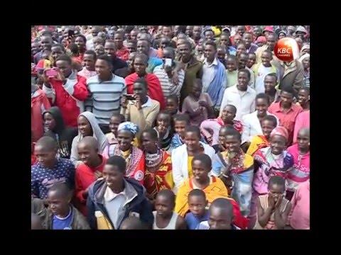 Nosim entertains fans in Narok County