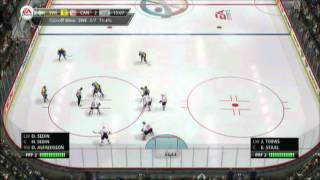 NHL 13 (PS3) EA Sports World Tournament - Game 1 - Canada vs Sweden