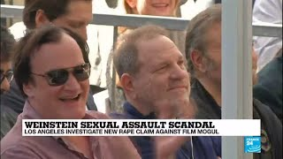 Video Weinstein scandal: new rape claim against mogul, Tarantino says he knew of misconduct download MP3, 3GP, MP4, WEBM, AVI, FLV Oktober 2017
