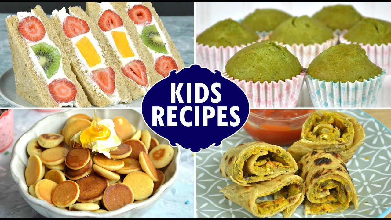Kids Breakfast Recipes Kids Recipes Bacchon Ka Easy And Quick Snack Breakfast Lunch Recipe Youtube