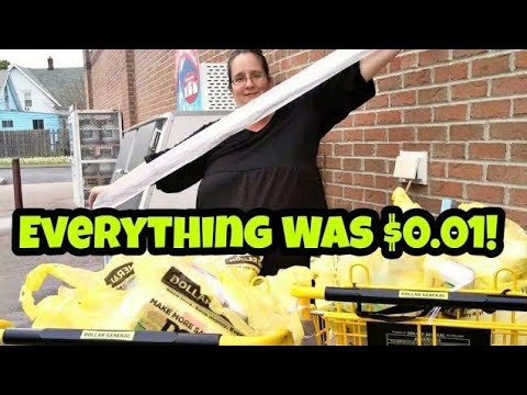 Almost 400 Items for $4 Dollar General Penny Shopping MOTHERLOAD!