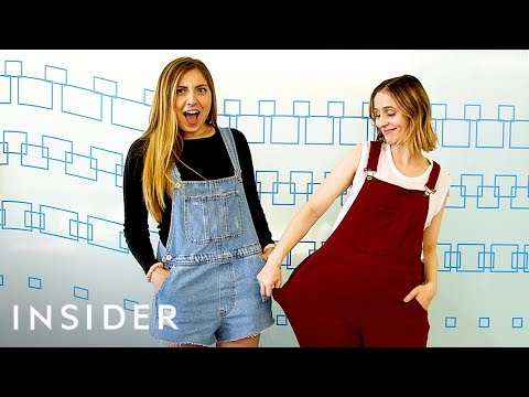 We Tried On Sweatpant Overalls For Comfort And Style