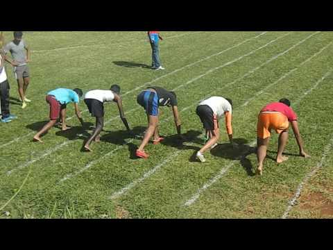 RTSS sport day , form 5 and lower race
