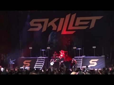 Skillet - Hero LIVE @ Blossom Music Center 08/02/2017