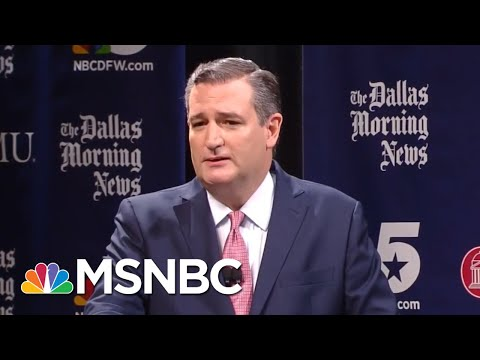 Beto O'Rourke And Ted Cruz Trade Jabs At Fiery Senate Debate | The 11th Hour | MSNBC