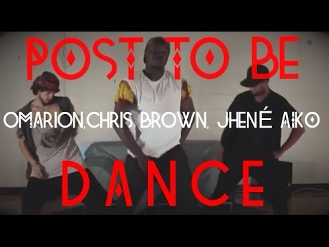 Omarion Ft. Chris Brown & Jhene Aiko  Post To Be  | Official Dance Video
