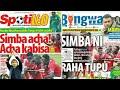 MICHEZO Magazetini Alhamis 8/2/2018:Simba Raha tupu