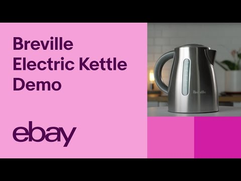 Breville BKE495 Electric Kettle Demo | EBay Top Products