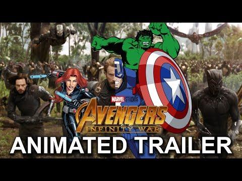 Avengers: Infinity War Trailer (animated...