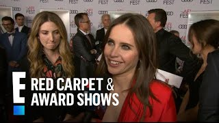 Felicity Jones' Advice From Ruth Bader Ginsburg on Playing RBG | E! Red Carpet & Award Shows