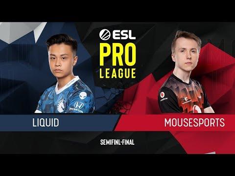 CS:GO - Mousesports Vs. Liquid [Overpass] Map 1 - Semi-Final - ESL Pro League Season 9