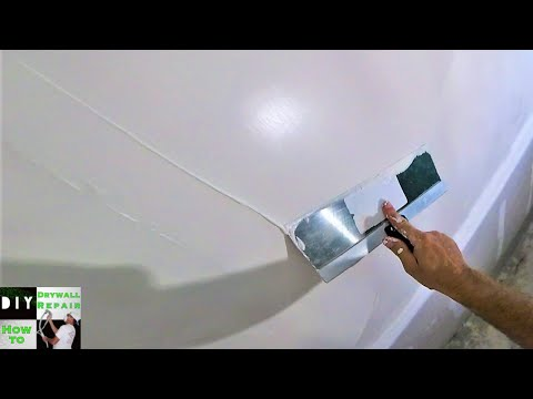 How to apply a skim coat to your walls for a smooth finish-