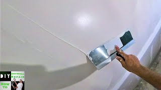 How to apply a skim coat to your walls for a smooth finish- Skim coating drywall Techniques and Tips