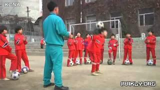 Северная Корея.Детский футбол