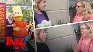 Bart Simpson Surprises A Fan … | TMZ TV