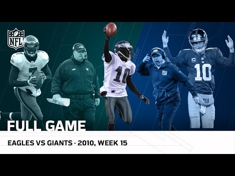 Miracle at the New Meadowlands | Eagles vs. Giants (Week 15, 2010) | NFL Full Game