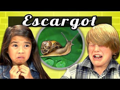 KIDS vs. FOOD #7 - ESCARGOT